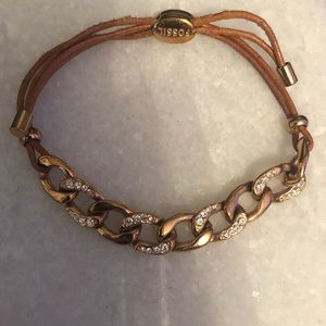 Fossil Chain Bracelet